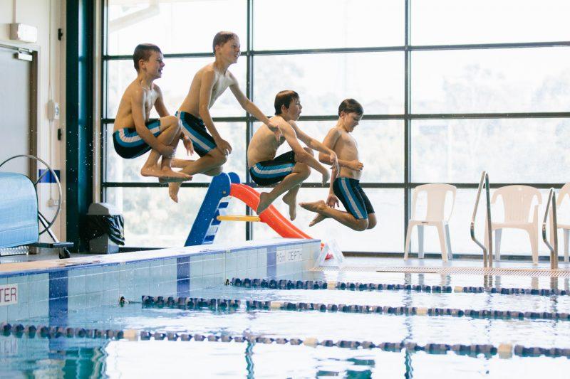 Return to swimming